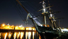 USS Constitution in Boston, MA