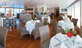 Windstar Cruises Veranda Dining Venue