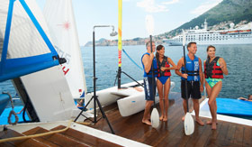 Windstar Cruises Watersports Platform Couples
