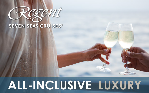 Regent: FREE Excursions, Drinks, WiFi, Tips