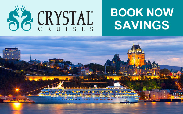 Crystal: 2-for-1 Fares and Book Now Savings