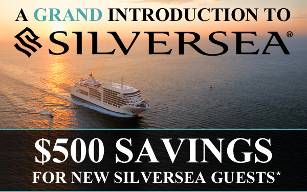 Silversea: First-Time Guest Savings