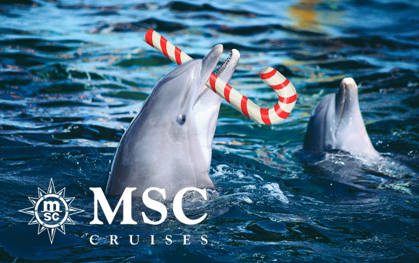 MSC Cruises Holiday cruises from $399