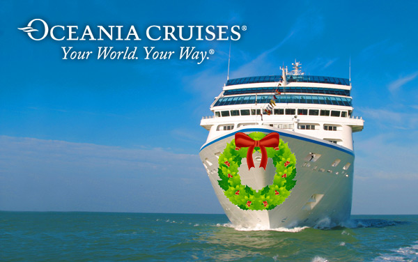 Oceania Cruises Holiday cruises from $1299.00!*