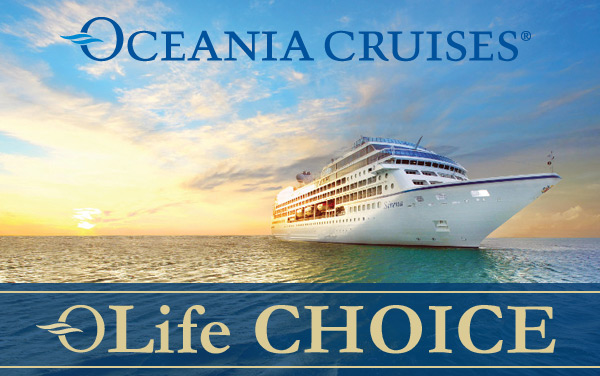 Oceania OLife Choice: Choose Your FREE Amenity