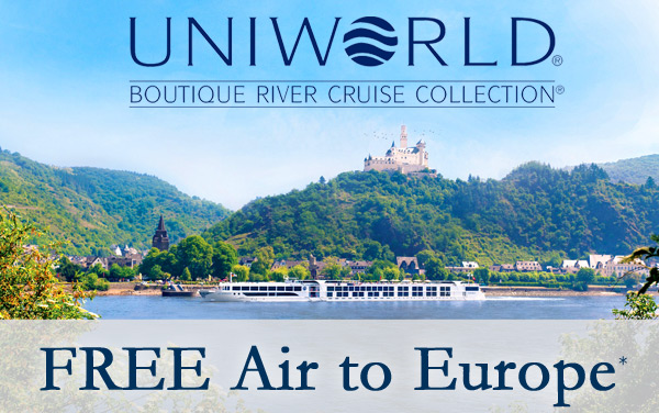 Uniworld: Free Air to Europe*