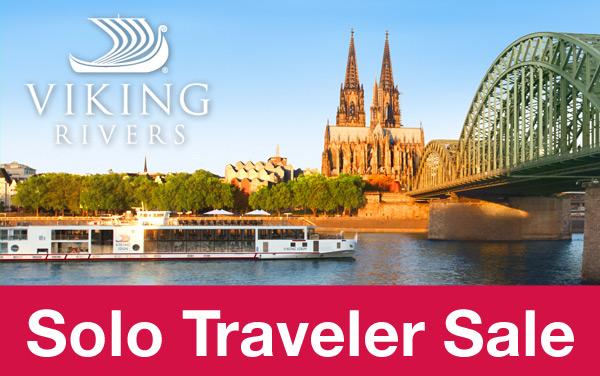 Viking Rivers: Solo Traveler Savings
