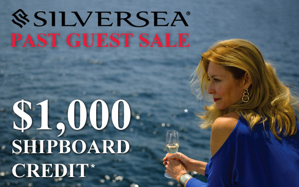 Silversea: Special Offer for Past Guests
