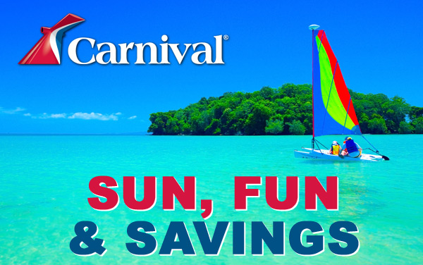 Carnival: Sun, Fun and Savings