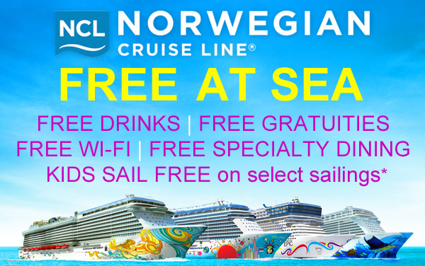 Norwegian Cruise Line: Pick Your FREE Perk*