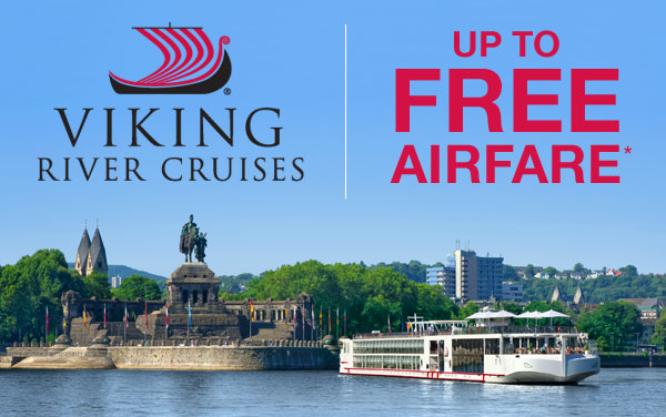 Viking Rivers: Air Savings PLUS Bonus Offer*