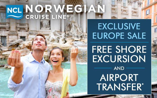 Norwegian Cruise Line: Exclusive Europe Sale*