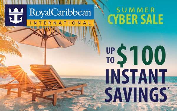 Royal Caribbean 5-Day Sale: up to $200 OFF*