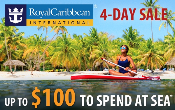 Royal Caribbean 5-Day Sale: up to $100 OBC*