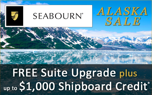 Seabourn Alaska Sale: FREE Upgrades and OBC*