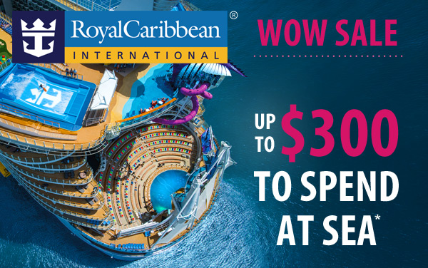 Royal Caribbean 5-Day Sale: up to $150 OBC*