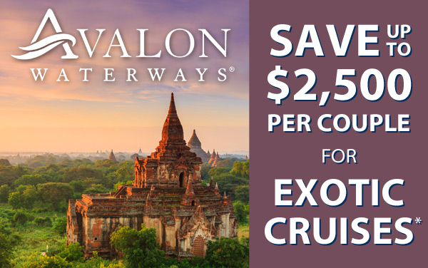 Avalon: up to $5,000 OFF Asia*