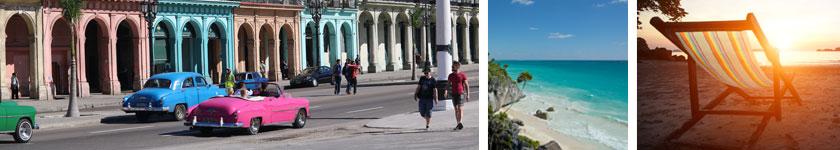 Senior Living at Sea Havana Nights and Caribbean Sights image collage