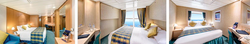 Accommodations aboard MSC Armonia