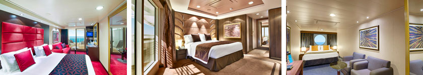 Accommodations aboard MSC Divina