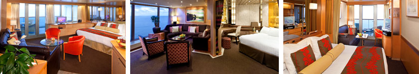 Accommodations aboard Holland America Amsterdam