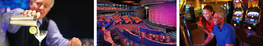 Entertainment aboard Holland America Amsterdam
