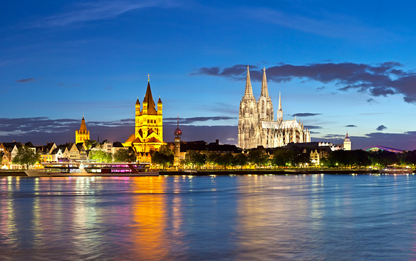 Uniworld River Cruises-Cologne, Germany