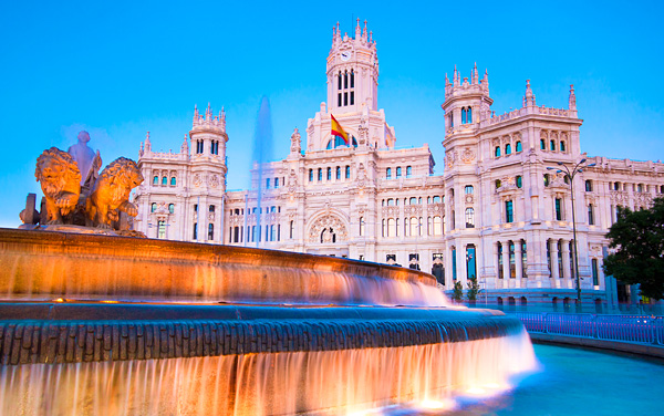Uniworld River Cruises-Madrid, Spain