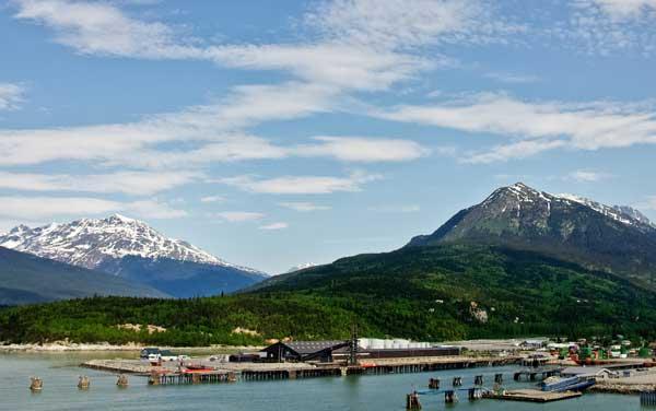 Koningsdam Skagway, Alaska Departure Port