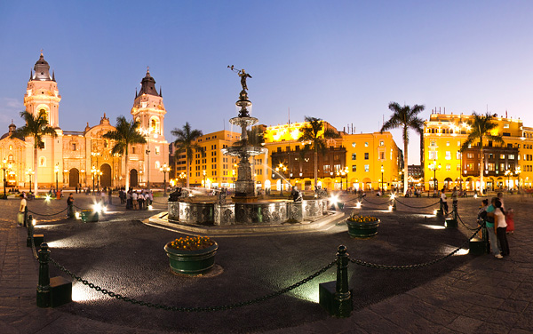 Avalon Waterways-Lima, Peru