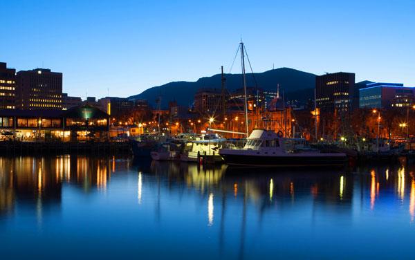 Crystal Endeavor Hobart, Australia Departure Port