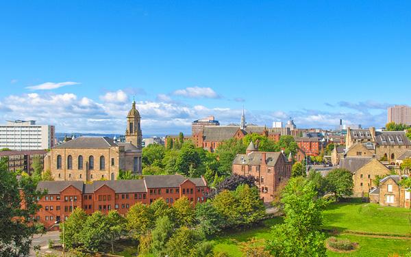 Greenock (Glasgow), Scotland, Uk