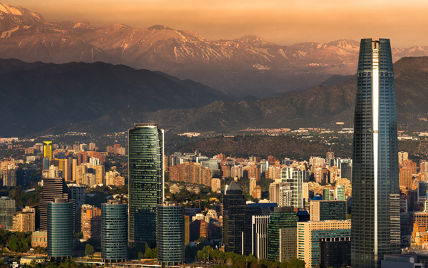 Princess Cruises-Santiago, Chile