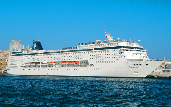 Msc Cruises-Msc Sinfonia