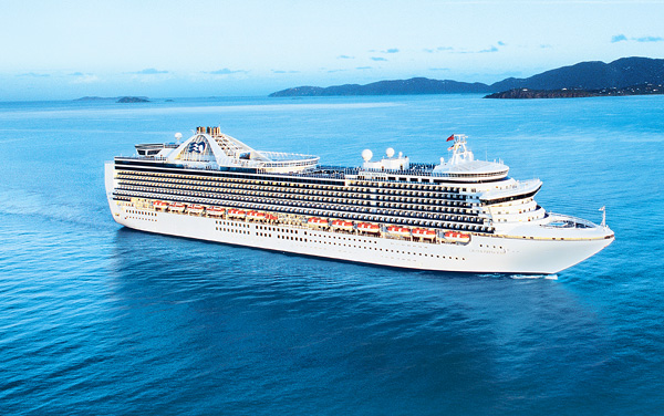 Princess Cruises-Crown Princess