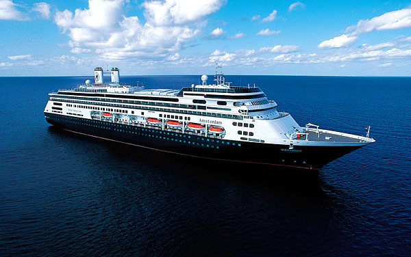 Holland America Amsterdam Day Grand Asia Pacific Voyage Departs - Cruise ships los angeles