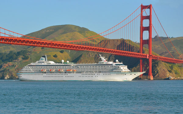 Crystal Symphony U. S. Pacific Coast Cruise Destination