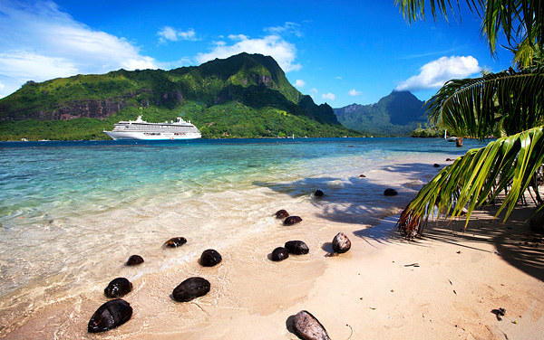 Crystal Symphony South Pacific / Tahiti Cruise Destination