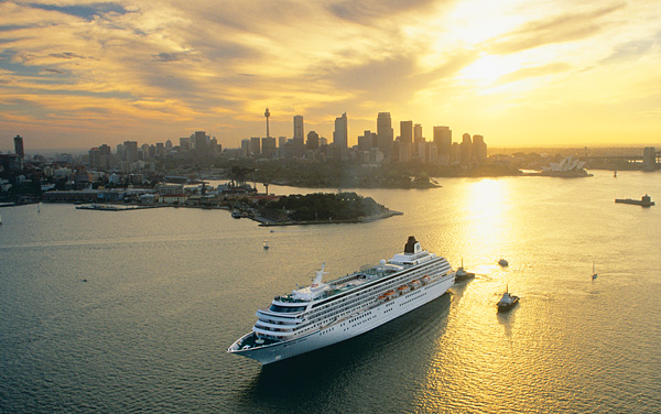 Crystal Serenity Australia/New Zealand Cruise Destination