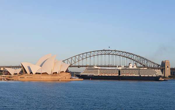 Maasdam Australia/New Zealand Cruise Destination