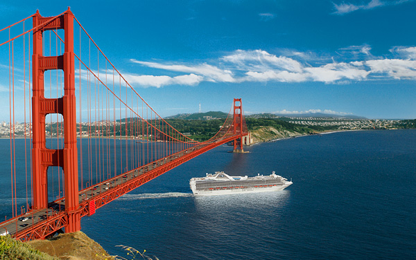 Royal Princess U. S. Pacific Coast Cruise Destination