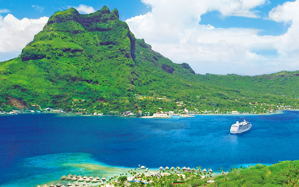 Sea Princess South Pacific / Tahiti Cruise Destination