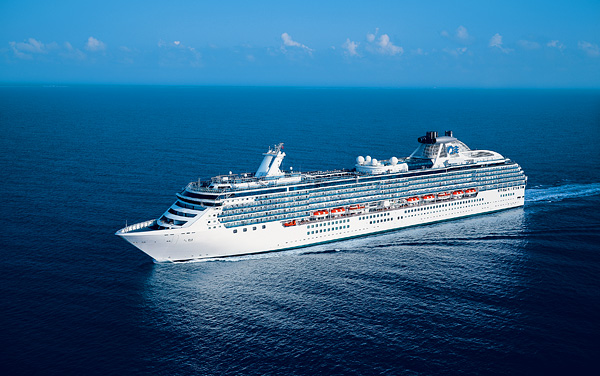 Crown Princess Transatlantic Cruise Destination