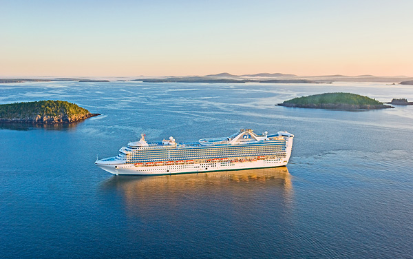 Grand Princess Canada / New England Cruise Destination