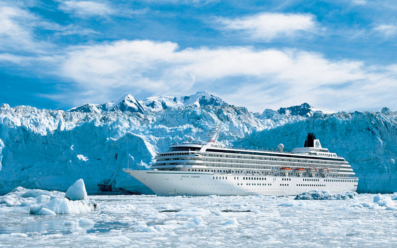 Crystal Symphony Alaska Cruise Destination