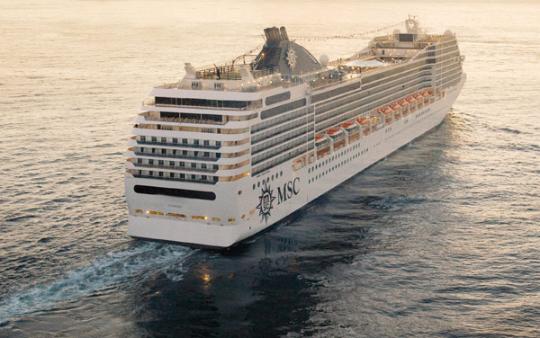 Msc Poesia World Cruise Destination