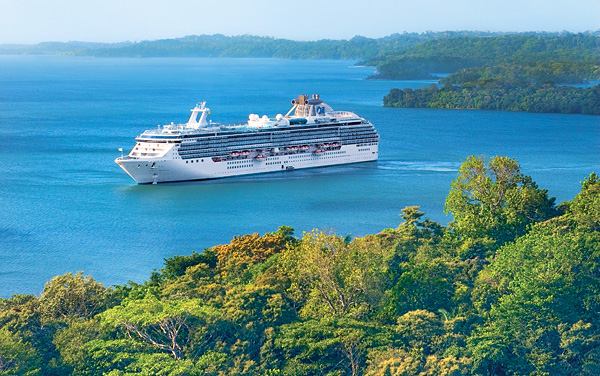 Pacific Princess Panama Canal Cruise Destination