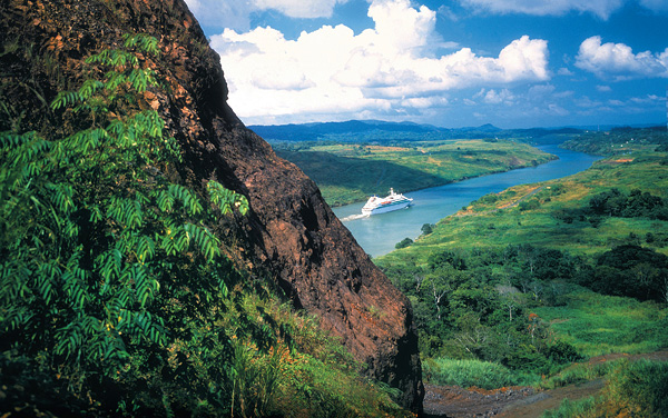 Seabourn Sojourn Panama Canal Cruise Destination