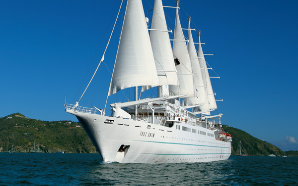Wind Surf Expedition Cruise Destination