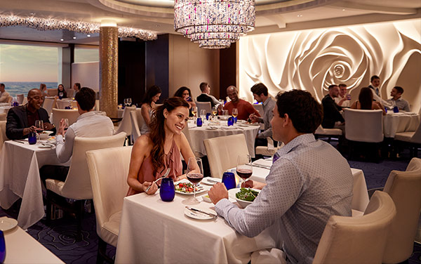 Celebrity Summit Dining Vendor Experience